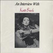 Kate Bush An Interview With Kate Bush Canada vinyl LP Promo