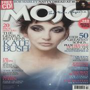 Kate Bush Mojo - October 2014 UK magazine