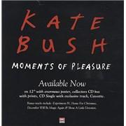 Kate Bush Moments Of Pleasure - Display Card UK display Promo