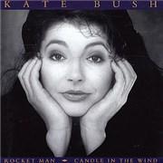 "Kate Bush Rocket Man - Poster Sleeve UK 7"" vinyl"