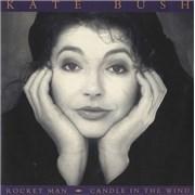 """Kate Bush Rocket Man - Injection Moulded UK 7"""" vinyl"""