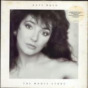 Click here for more info about 'Kate Bush - The Whole Story - Stickered Sleeve - EX'