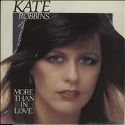 Click here for more info about 'Kate Robbins - More Than In Love - P/s'