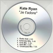 Click here for more info about 'Kate Ryan - Je T'Adore - 5-track'
