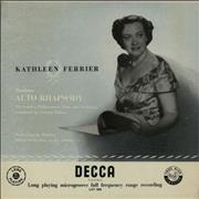 Click here for more info about 'Kathleen Ferrier - Alto Rhapsody And Four Songs'