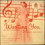Click here for more info about 'Kathryn Grayson - Wanting You'