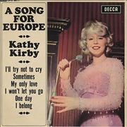 Click here for more info about 'Kathy Kirby - A Song For Europe EP'