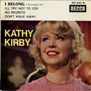 Click here for more info about 'Kathy Kirby - I Belong EP'