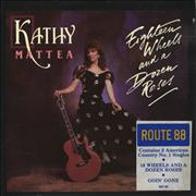 Click here for more info about 'Kathy Mattea - Eighteen Wheels And A Dozen Roses'