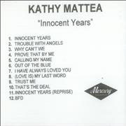 Click here for more info about 'Kathy Mattea - Innocent Years'