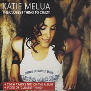 Click here for more info about 'Katie Melua - The Closest Thing To Crazy - 4 Track'