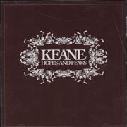 Click here for more info about 'Keane (00s) - Hopes And Fears'