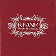Click here for more info about 'Keane (00s) - Bend & Break'