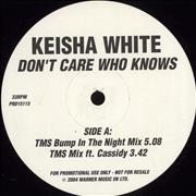Click here for more info about 'Keisha White - Don't Care Who Knows'