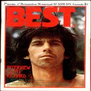 Click here for more info about 'Keith Richards - Best - November 1974'