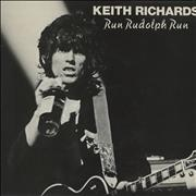 """Keith Richards Run Rudolph Run + p/s UK 7"""" vinyl"""