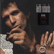 Click here for more info about 'Keith Richards - Talk Is Cheap - 180gm Red Vinyl - Sealed'
