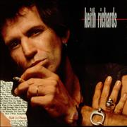 Keith Richards Talk Is Cheap Germany vinyl LP