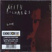 """Keith Richards Wicked As It Seems - RSD 2021 - Red Vinyl - Sealed UK 7"""" vinyl"""