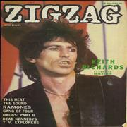 Click here for more info about 'Keith Richards - Zig Zag Magazine No. 107'