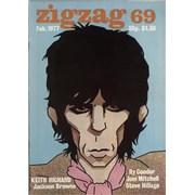 Keith Richards ZigZag 69 UK magazine
