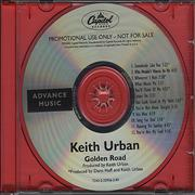 Click here for more info about 'Keith Urban - Golden Road'