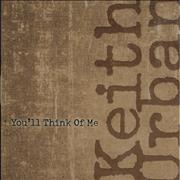 Click here for more info about 'Keith Urban - You'll Think Of Me'