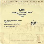 Click here for more info about 'Kelis - Young Fresh 'N' New'