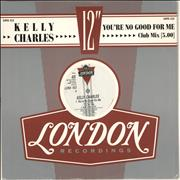 Click here for more info about 'Kelly Charles - You're No Good For Me'