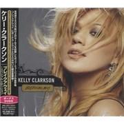 Kelly Clarkson Breakaway Japan 2-disc CD/DVD set Promo