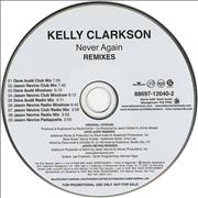 Click here for more info about 'Kelly Clarkson - Never Again - Remixes'