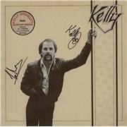 Kelly Groucutt Kelly - Autographed UK vinyl LP