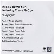Click here for more info about 'Kelly Rowland - Daylight'