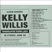 Click here for more info about 'Kelly Willis - Translated From Love'