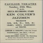 Click here for more info about 'Ken Colyer - Pavilion Theatre Sunday, 24th May'