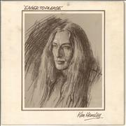 Ken Hensley Eager To Please UK vinyl LP