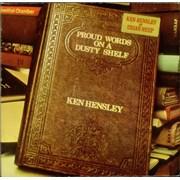 Ken Hensley Proud Words On A Dusty Shelf + Insert Germany vinyl LP