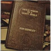 Ken Hensley Proud Words On A Dusty Shelf Spain vinyl LP