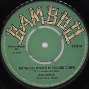 Click here for more info about 'Ken Parker - My Whole World Is Faling Down'