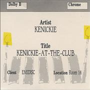 Click here for more info about 'Kenickie - Kenickie At The Club'