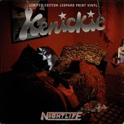 Click here for more info about 'Kenickie - Nightlife - Leopard print vinyl'