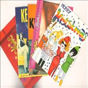 Click here for more info about 'Kenickie - Quantity of Five Newsletters, Mailshot Postcard and Christmas Card'