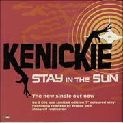 Click here for more info about 'Kenickie - Stay In The Sun'