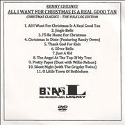Click here for more info about 'Kenny Chesney - All I Want For Christmas Is A Real Good Tan'