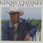 Click here for more info about 'Kenny Chesney - Me And You - Autographed'