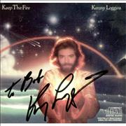 Click here for more info about 'Kenny Loggins - Keep The Fire - Autographed'