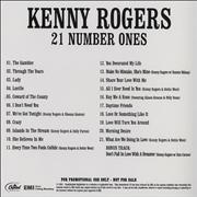Click here for more info about 'Kenny Rogers & The First Edition - 21 Number Ones'