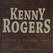 Click here for more info about 'Kenny Rogers & The First Edition - I Can't Unlove You'