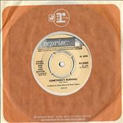 Click here for more info about 'Kenny Rogers & The First Edition - Something's Burning - 4pr'