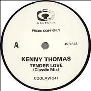 Click here for more info about 'Kenny Thomas - Tender Love - Promo'